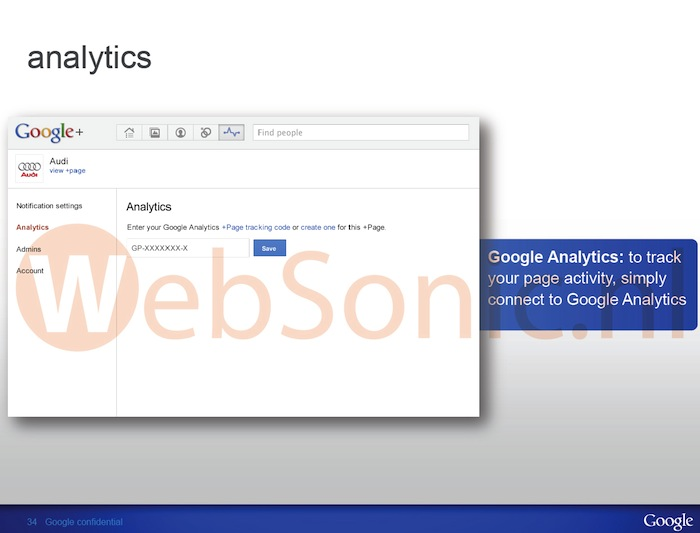 Google Analytics pourra peut-être mesurer le trafic de vos pages Google+