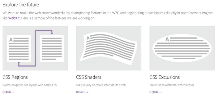 html.adobe.com : Une plateforme Adobe & HTML - Web Standards