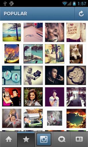 Instagram pour Android désormais disponible !