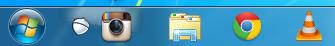 Instagrille une version de bureau d'Instagram sur Windows, et Carousel sur Mac - Barre des tâches avec Instagrille