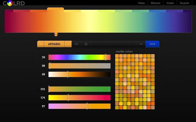 Les 10 meilleurs applications  extensions de Chrome pour les web designers - ColRD : Gradient Creator