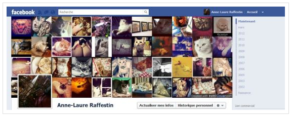Les acteurs du Web en ont parlé [#28] - Une couverture Facebook avec Instagram : InstaCover