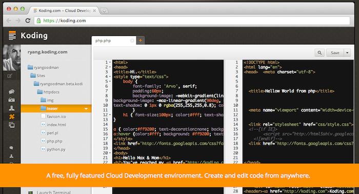 Les acteurs du Web en ont parlé [#28] - Koding, le développement dans le cloud