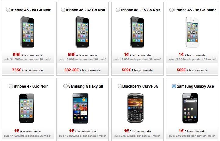 L'iPhone 4 et iPhone 4S chez FreeMobile c'est désormais possible