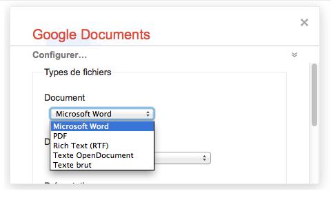 Sauvegarder tous vos documents Google Documents avec Google Takeout - Configurer