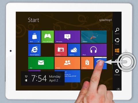 Splashtop Remote Desktop, la solution pour tester Windows 8 sur iPad