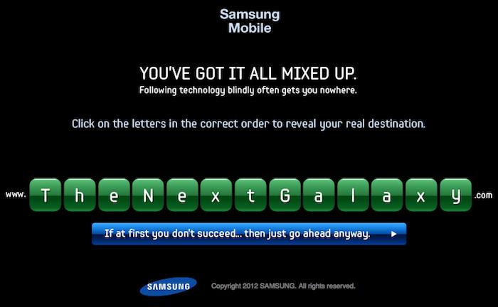 Un nouveau teaser pour Samsung et son 'Next Galaxy'