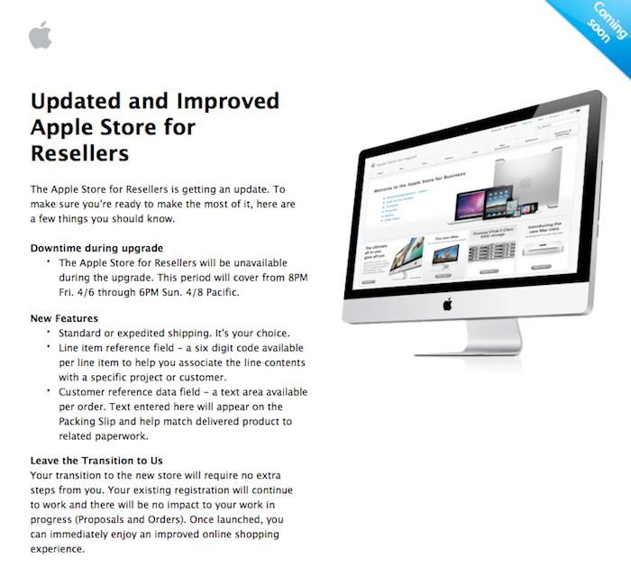 Un nouvel Apple Store en ligne prochainement ?