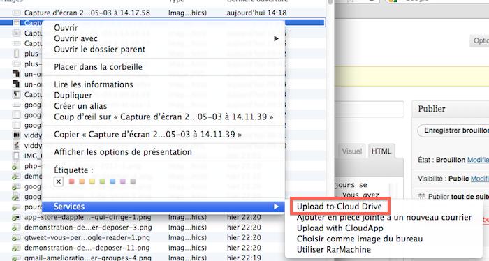 Amazon Cloud Drive, une énième application de stockage sur le cloud ? - Vous aurez besoin de redémarrer pour obtenir l'objet Mac menu contextuel illustré ici