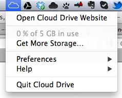 Amazon Cloud Drive, une énième application de stockage sur le cloud ? - Icône sous Mac