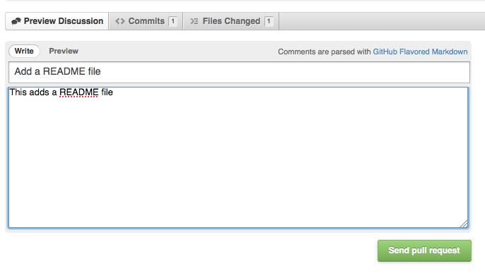 Comprendre GitHub : Fork, Branch, Track, Squash et Pull Request - Décrivez votre pull request