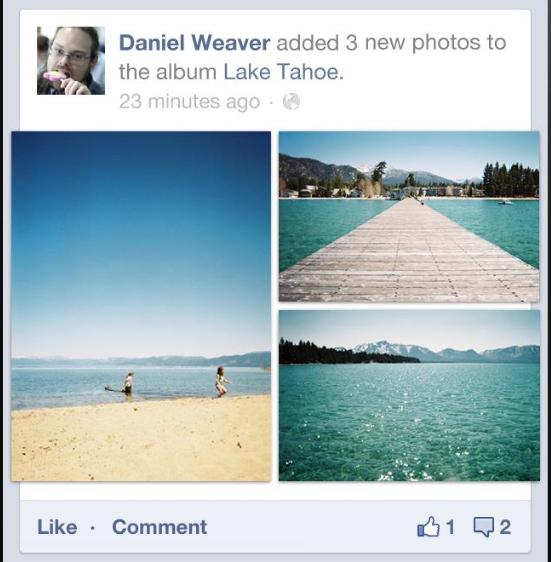 Facebook améliore son flux d'actualités sur mobile - Nouvelle interface iOS de Facebook