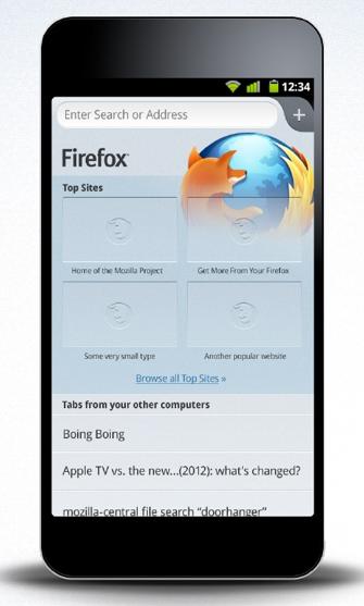 Firefox fusionne ses expériences de bureau et mobile en une seule - Design de Firefox Mobile