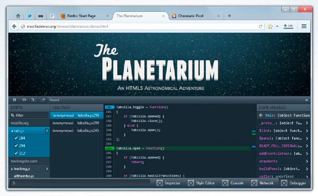 Firefox fusionne ses expériences de bureau et mobile en une seule - Débogueur de Firefox