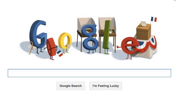 Google célèbre le second tour de l'élection Présidentielle