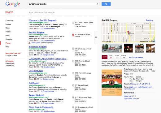 Google+ Local débarque dans le réseau social de Google pour trouver restaurants, bars, etc ... - Local sur Google+