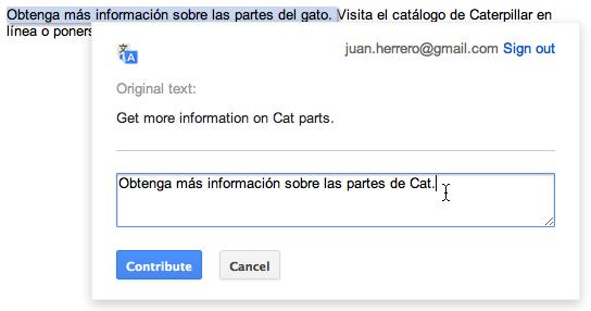 Google Translate permet désormais aux propriétaires et aux visiteurs de sites Web de modifier les traductions