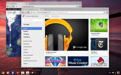 Google veut développer Chrome OS avec des Chromebooks et un Chromebox - Chrome OS