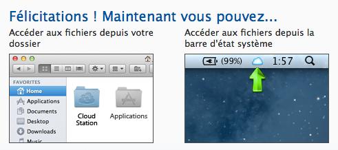 L'application Cloud Station sur Mac lancée par Synology - Guide d'utilisation de Cloud Station