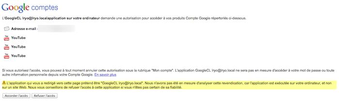Le Guide du débutant pour utiliser GoogleCL - Authentification pour une commande GoogleCL