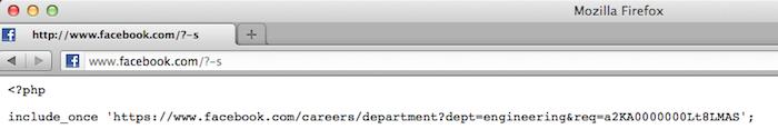 PHP 5.4.3 et PHP 5.3.13 publiées venant corriger la faille CVE-2012-1823 - Facebook s'amuse avec la faille CGI