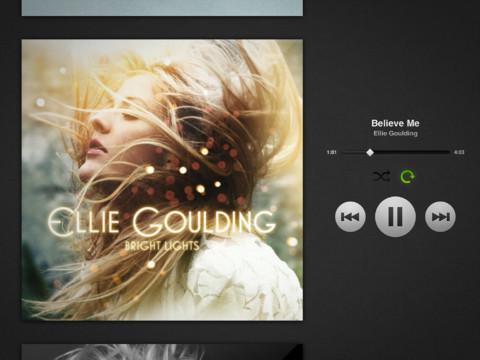 Spotify pour iPad c'est enfin possible !
