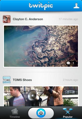 Twitpic publie sa propre application iPhone avec des filtres ! De quoi concurrencer Instagram ? - Onglet Populaire de Twitpic