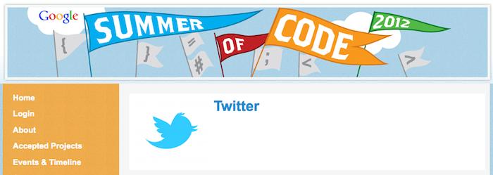 Twitter donne des détails sur sa participation au Google Summer Of Code