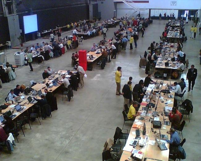 Un blog au ralenti cette semaine suite au Connecathon 2012 à Bern