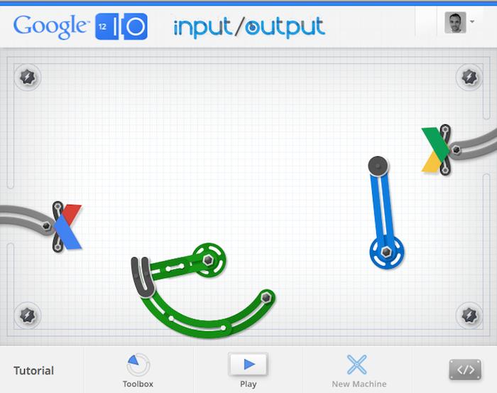 Une expérience de Google Chrome très amusante - Machine infernal Google I/O