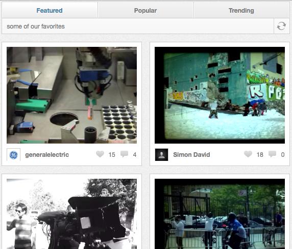 Viddy et Socialcam : la bataille pour devenir l'Instagram de la vidéo est lancée - Vidy