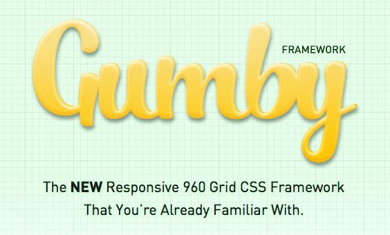 Applications, ressources et goodies pour les concepteurs Web ! - Gumby Framework