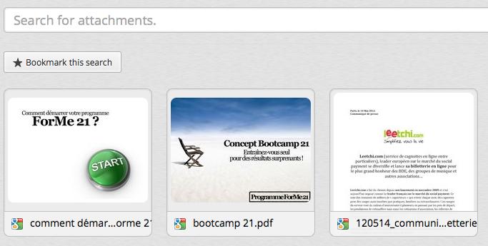 Attachments.me, une intégration avec Google Drive -