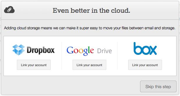 Attachments.me, une intégration avec Google Drive - Autorisation d'Attachments.me pour Google Drive