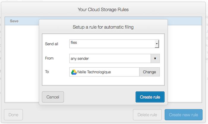 Attachments.me, une intégration avec Google Drive - Envoyer des pièces jointes d'un dossier spécifique depuis votre GDrive