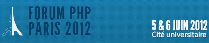 Forum PHP Paris 2012 - Logo du Forum