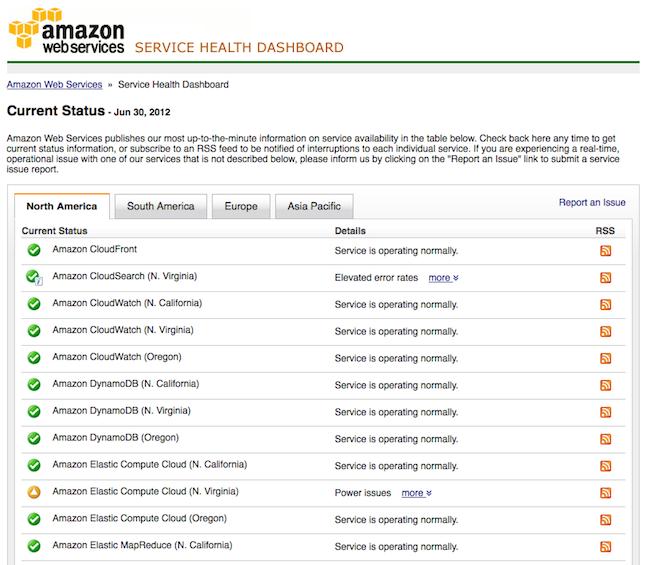 Des coupures d'Amazon Web Services provoquent le chaos pour de nombreux services Web
