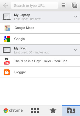 Google annonce Chrome pour iPhone et iPad dès aujourd'hui !