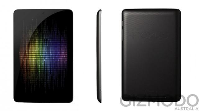 Google détaille sa Google Nexus 7 par fuite avant la Google I/O