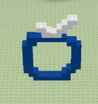 Google développe un site composé de 8 mille milliards de LEGO - Futur logo du BlogNT en LEGO
