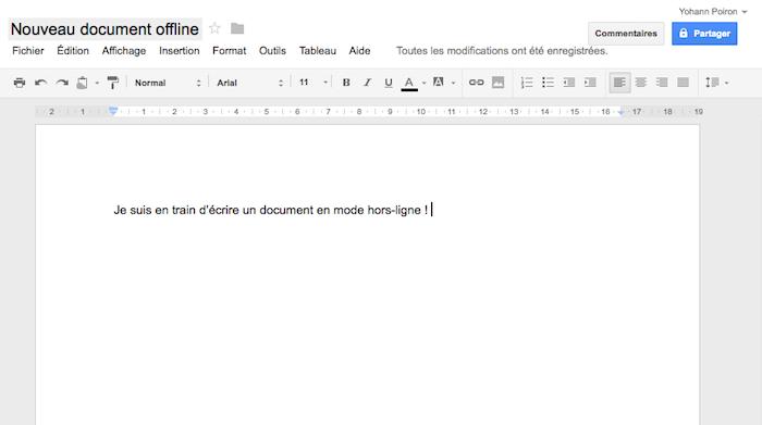 Google Drive offre enfin l'édition hors-ligne des documents