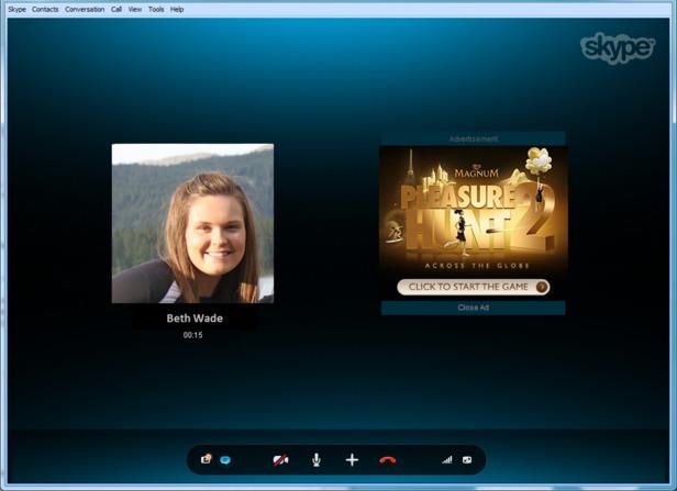 Les publicités dans Skype arrivent dès aujourd'hui