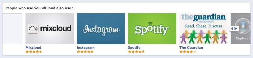 L'Espace Applications (App Center) de Facebook officiellement lancé ! - Recommandation d'applications similaires qu'on installé des amis