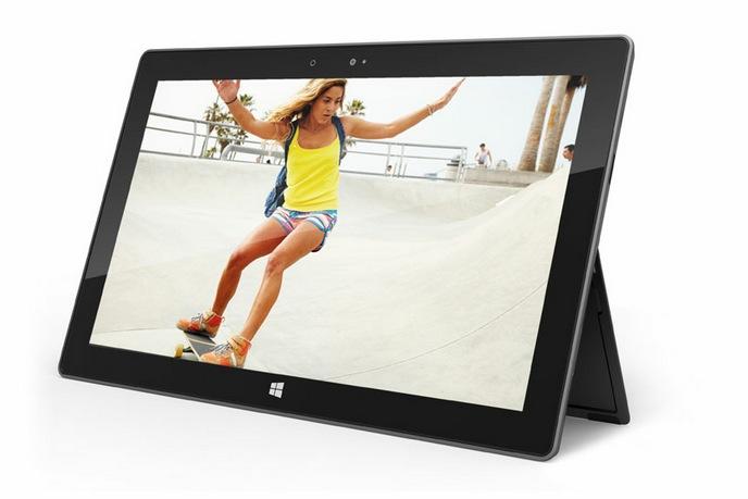 Microsoft lance Surface dans le marché des tablettes