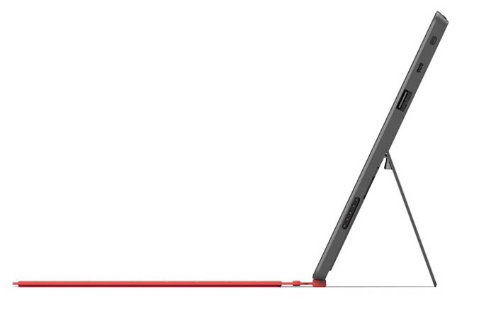 Microsoft Surface, une tablette avec une béquille et de multiples couleurs de clavier - La Surface est ridiculement mince