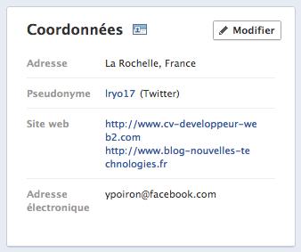 Qu'on le veuille ou non, votre e-mail Facebook est maintenant répertorié par défaut - Adresse e-mail @facebook par défaut dans votre profil