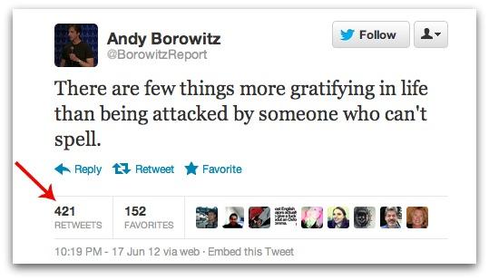 Twitter affiche dorénavant exactement combien vous recevez de retweets