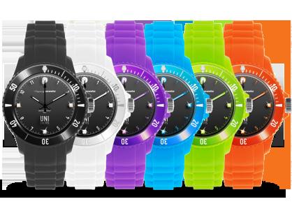 [2 ans] Anniversaire : Trois montres Uni color black S offertes par Paranello