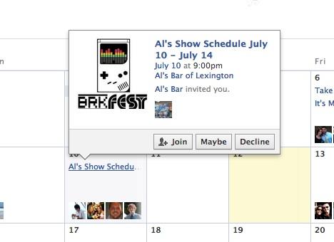 Facebook propose enfin une mise à jour pour la gestion des événements