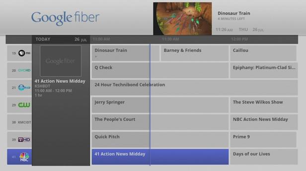 Google Fiber est bien plus rapide que la plupart des accès Internet ! - Google TV Fiber